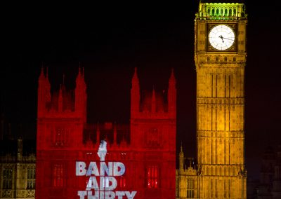 BandAid30 Parliament The Projection Studio 3