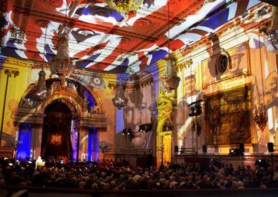 Buckingham Palace The Projection Studio 1