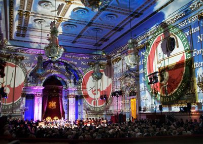 Buckingham Palace The Projection Studio 3