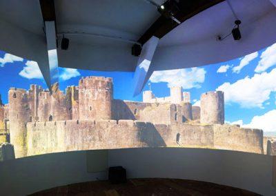 Caerphilly Castle Illuminata The Projection Studio 2
