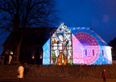 Cheriton Light Festival The Projection Studio 2