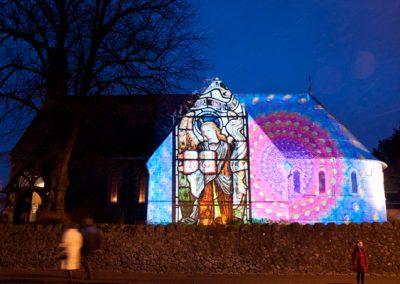 Cheriton Light Festival The Projection Studio 2