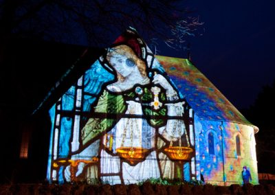 Cheriton Light Festival The Projection Studio 3