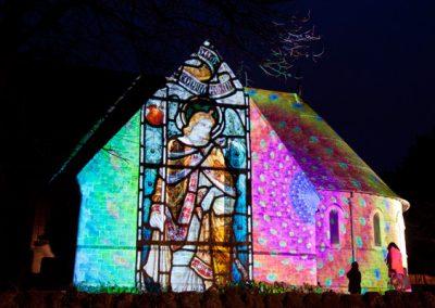 Cheriton Light Festival The Projection Studio 4