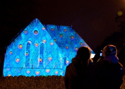Cheriton Light Festival The Projection Studio 5
