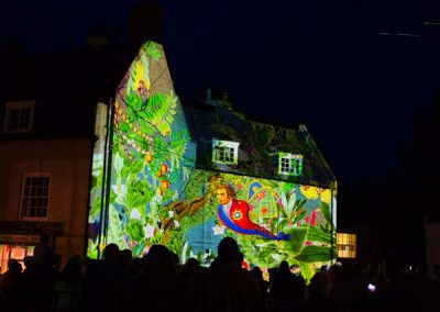 Horncastle Enchanted Town Festival The Projection Studio 2