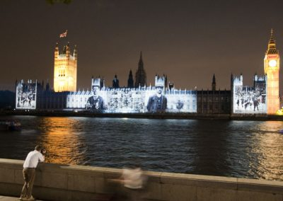 Houses of Parliament Olympic Games 2012 The Projection Studio 3