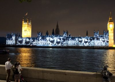 Houses of Parliament Olympic Games 2012 The Projection Studio 6