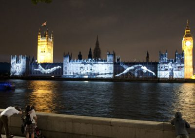 Houses of Parliament Olympic Games 2012 The Projection Studio 7
