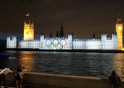 Houses of Parliament Olympic Games 2012 The Projection Studio 8