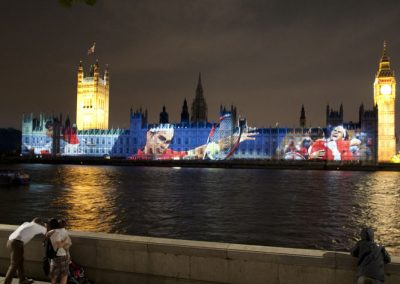 Houses of Parliament Olympic Games 2012 The Projection Studio 9
