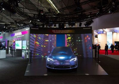 Tesla-Car-for-Panasonic-at-ISE-The-Projection-Studio-2