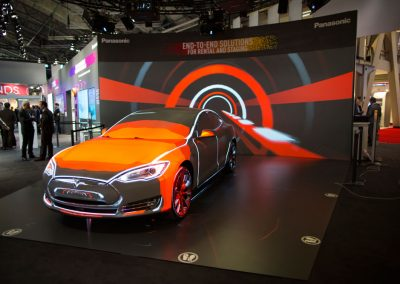 Tesla-Car-for-Panasonic-at-ISE-The-Projection-Studio-3