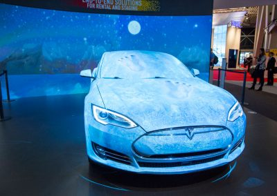 Tesla-Car-for-Panasonic-at-ISE-The-Projection-Studio-4