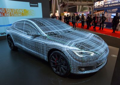 Tesla-Car-for-Panasonic-at-ISE-The-Projection-Studio-6