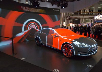 Tesla-Car-for-Panasonic-at-ISE-The-Projection-Studio-7
