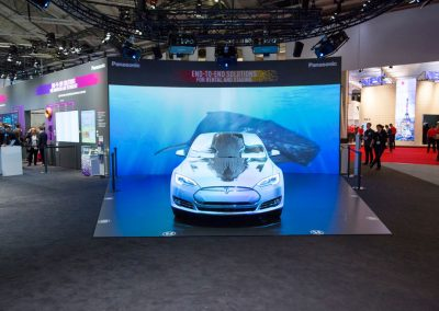 Tesla-Car-for-Panasonic-at-ISE-The-Projection-Studio-8