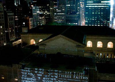 Three Faiths The Projection Studio 4
