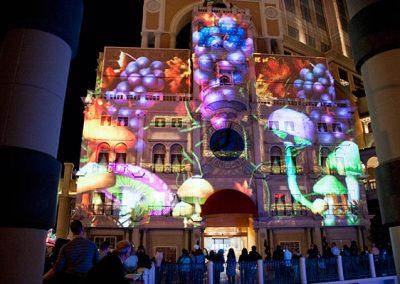 Venetian Casino Hotel Las Vegas The Projection Studio 4
