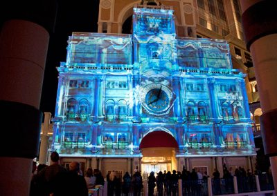 Venetian Casino Hotel Las Vegas The Projection Studio 5