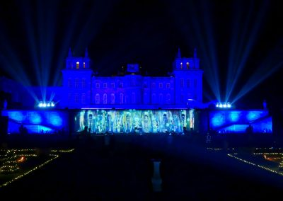 Bleheim Castle Christmas The Projection Studio