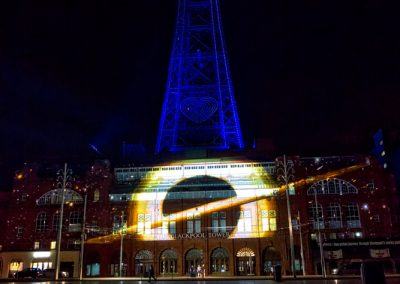 Chasing-Stars-Blackpool-Tower-The-Projection-Studio-4