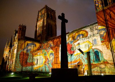 Durham Cathedral The Projection Studio