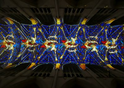 Northern Lights at York Minster The Projection Studio